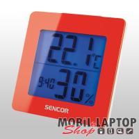 Sencor SWS 1500 RD piros időjárás állomás