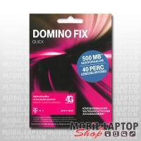 SIM kártya Telekom Domino FIX Quick 40 perc lebeszélhető + 500MB internet
