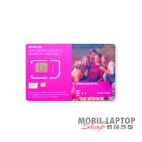 SIM kártya Telekom REGISZTRÁLATLAN 2700Ft lebeszélhető