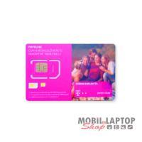 SIM kártya Telekom REGISZTRÁLATLAN 40 perc lebeszélhető