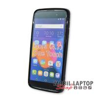 "Szilikon tok Alcatel 6039 One Touch Idol 3 4,7"" fekete"
