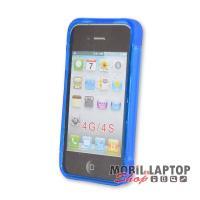 Szilikon tok Apple iPhone 4 / 4S ultravékony kék