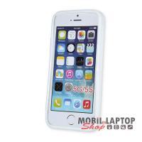 Szilikon tok Apple iPhone 5 / 5S / SE fehér