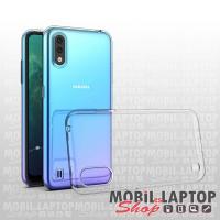 Szilikon tok Samsung A015 Galaxy A01 ultravékony átlátszó
