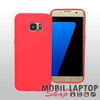Szilikon tok Samsung G935 Galaxy S7 Edge ultravékony matt piros
