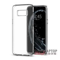 Szilikon tok Samsung G950 Galaxy S8 átlátszó Spigen SGP Liquid Crystal