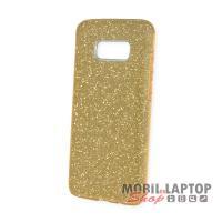 Szilikon tok Samsung G955 Galaxy S8 Plus csillámos arany 3 in 1 szálcsiszolt