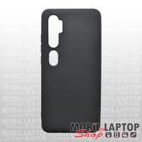 Szilikon tok Xiaomi Mi Note 10 ultravékony matt fekete