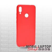 Szilikon tok Xiaomi Redmi 7 ultravékony matt piros
