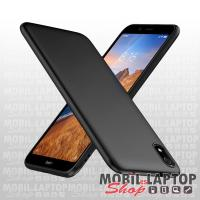 Szilikon tok Xiaomi Redmi 7A ultravékony matt fekete