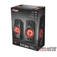 Trust GXT 608 Tytan 2.0 fekete gamer hangszóró