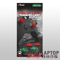 Trust GXT264 Xbox One kontroller csúszásgátló gumi borítás piros, fekete, szürke, zöld