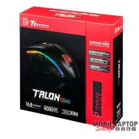 Ttesports Talon Elite Fekete USB Gamer egér + egérpad