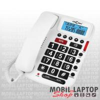 Vezetékes telefon ConCorde 5030 időseknek fehér