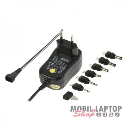 Adapter Univerzális Hálózati 3 Volt-12 Volt 1000mA P.SUP.EU1000 / ACPA001