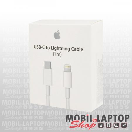 Adatkábel Apple USB Type-C / 8pin lightning fehér (MK0X2FE/A / MK0X2ZM/A / MQGJ2ZM/A)