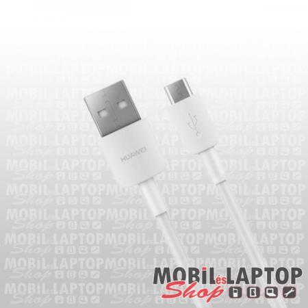 Adatkábel Huawei Micro USB fehér