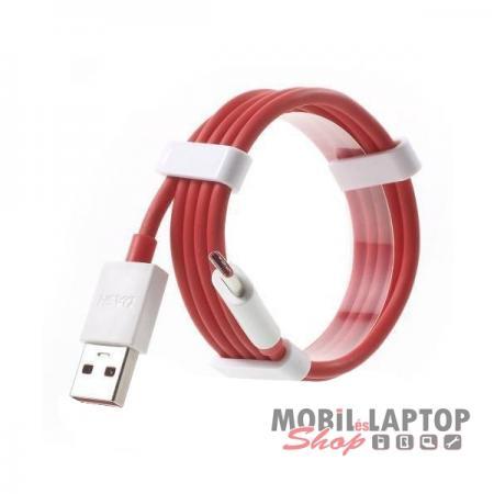 Adatkábel OnePlus USB Type-C piros