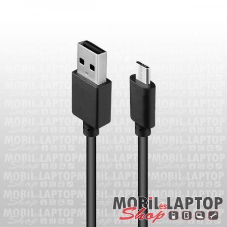 Adatkábel univerzális Micro USB fekete ( 2 méter )