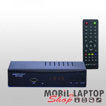Alcor HDT-4400 DVB-T/T2 set-top-box vevőegység