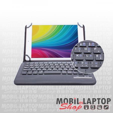 """Alcor univerzális tablet tok Bluetooth 3.0 billentyűzettel 7/8"""" fekete, Android/iOS kompatib BT-080"""