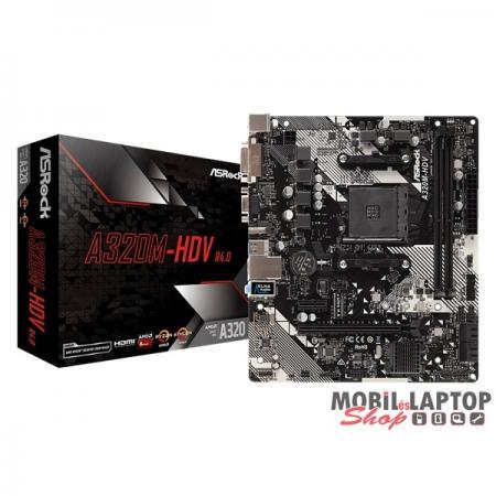 ASRock A320M-HDV R4.0 AMD A320 SocketAM4 mATX alaplap