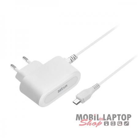 Astrum CH100 1A Micro USB hálózati töltő fehér