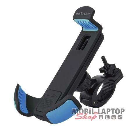 """Astrum SH460 gumibevonatos univerzális biciklis tartó 3,5"""" - 6,3"""" 360 fokban forgatható fekete/kék"""