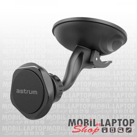 Astrum SH480 univerzális mágneses autós tartó szélvédőre fekete