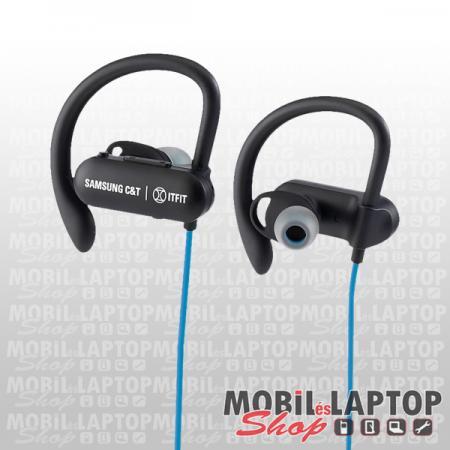 Bluetooth sztereo sport headset Samsung ItFit BE7 kék-fekete ( GP-OAU019SACLW )