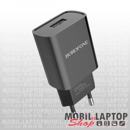 Borofone BA20A Sharp univerzális hálózati töltő USB adapter 2.1A fehér