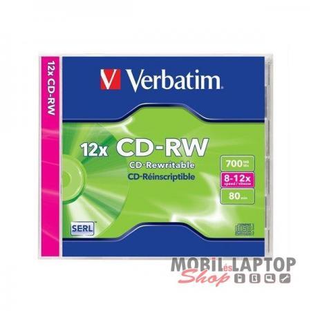 CD lemez újraírható 700mb CD-RW