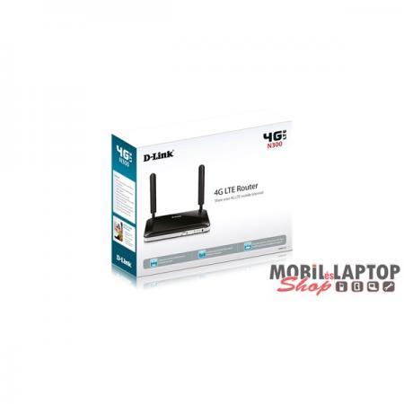 D-Link DWR-921/E 4port FE LAN LTE Router SIM kártya foglalattal