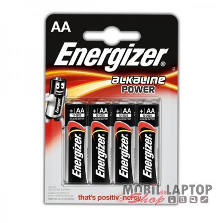 Elem Energizer AA LR6 E91 BL4 (4db/csomag)