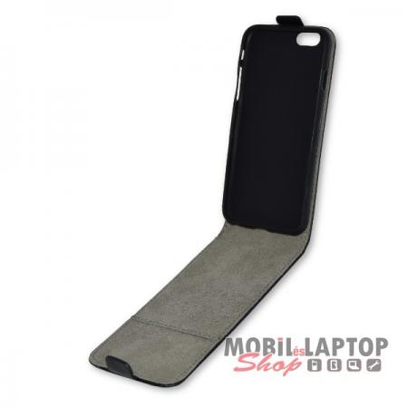 """Flippes tok Apple iPhone 6 / 6S 4,7"""" fekete lefelé nyíló"""