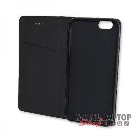 """Flippes tok Apple iPhone 6 / 6S 4,7"""" fekete oldalra nyíló"""