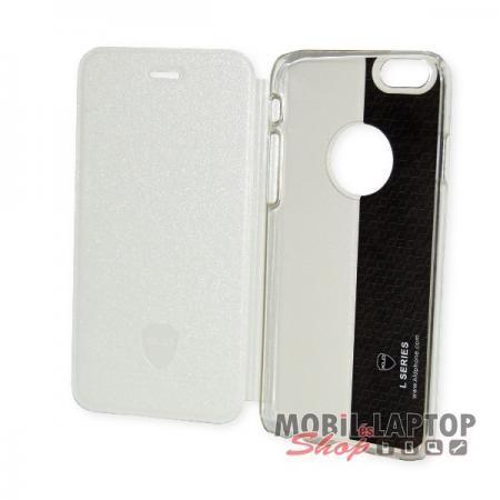 """Flippes tok Apple iPhone 6 / 6S 4,7"""" Kalaideng oldalra nyíló fehér"""