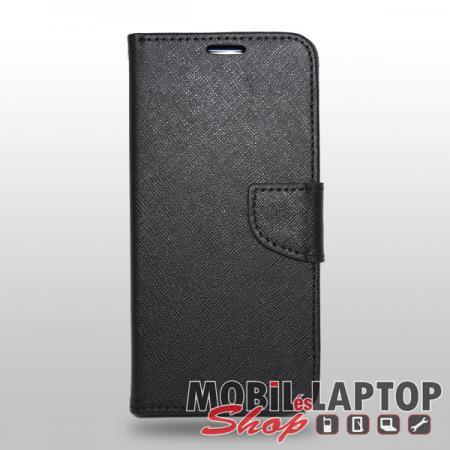 Flippes tok Huawei Mate 20 Lite fekete oldalra nyíló Fancy
