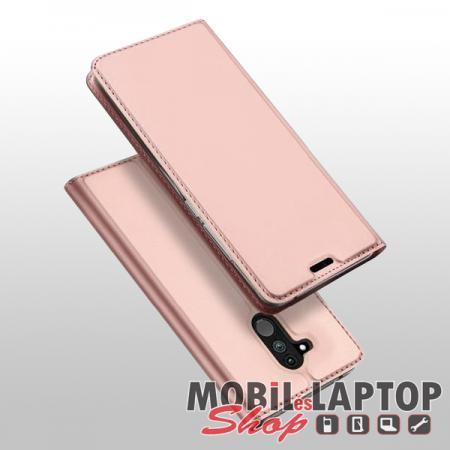 Flippes tok Huawei Mate 20 Lite rózsaarany oldalra nyíló