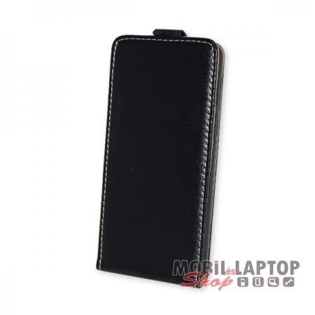 Flippes tok Huawei Nova Smart / Honor 6C / Enjoy 6 fekete lefelé nyíló