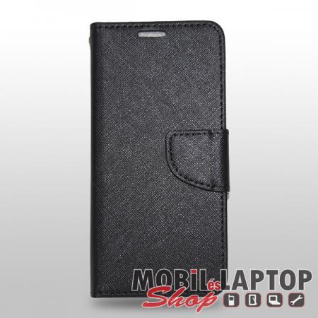 Flippes tok Huawei P Smart / Enjoy 7S fekete oldalra nyíló Fancy