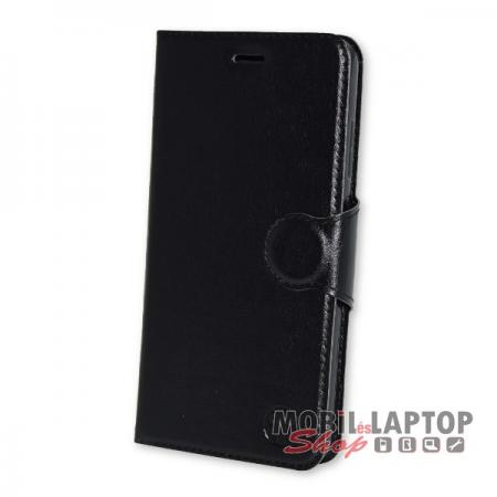 Flippes tok Huawei P10 Lite fekete oldalra nyíló
