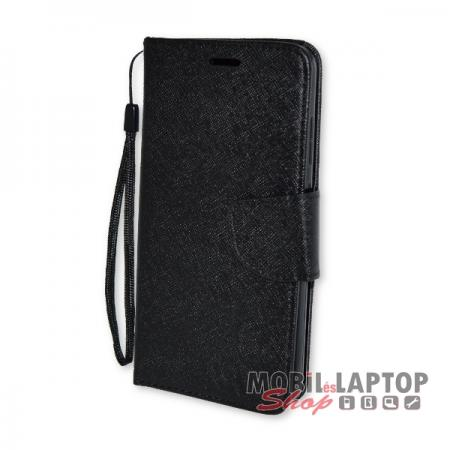 Flippes tok Huawei P10 Lite fekete oldalra nyíló Fancy