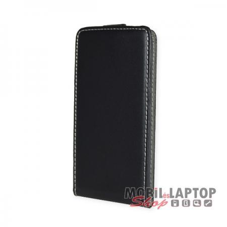 Flippes tok Huawei P20 fekete lefelé nyíló