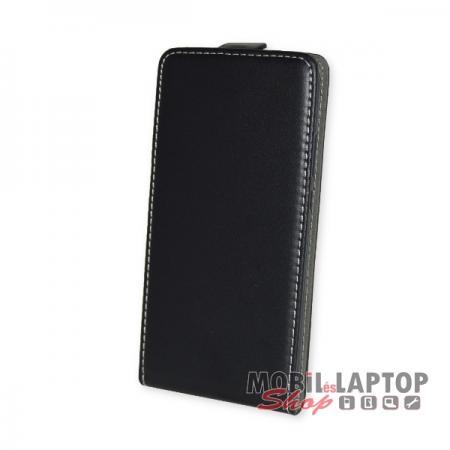 Flippes tok Huawei P20 Lite fekete lefelé nyíló