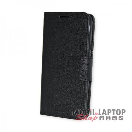 Flippes tok Huawei P20 Lite fekete oldalra nyíló Fancy