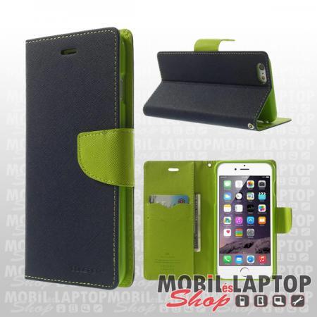 Flippes tok Huawei P40 Lite kék-zöld oldalra nyíló Fancy