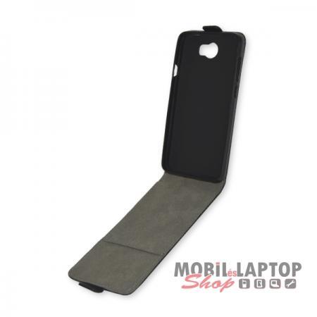 Flippes tok Huawei Y5II ( Y5-2 ) / Y6II Compact ( Y6-2 ) fekete lefelé nyíló