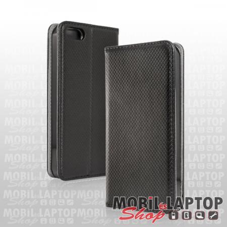 Flippes tok Huawei Y5p fekete oldalra nyíló