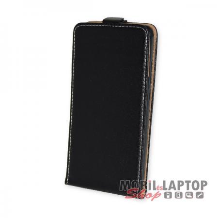 Flippes tok Huawei Y7 fekete lefelé nyíló